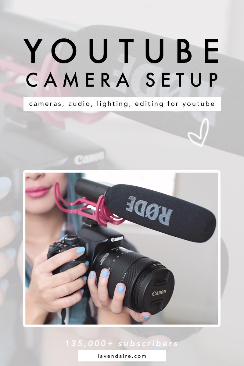 YouTube Camera Setup | Filming Setup | Camera Gear | YouTube Equipment | YouTuber